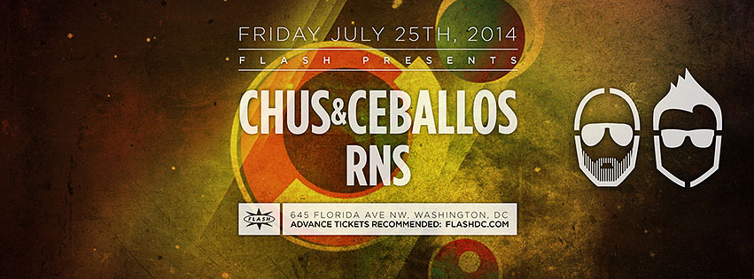 FRI July 25 Flash presents: Chus + Ceballos (Stereo Productions)
