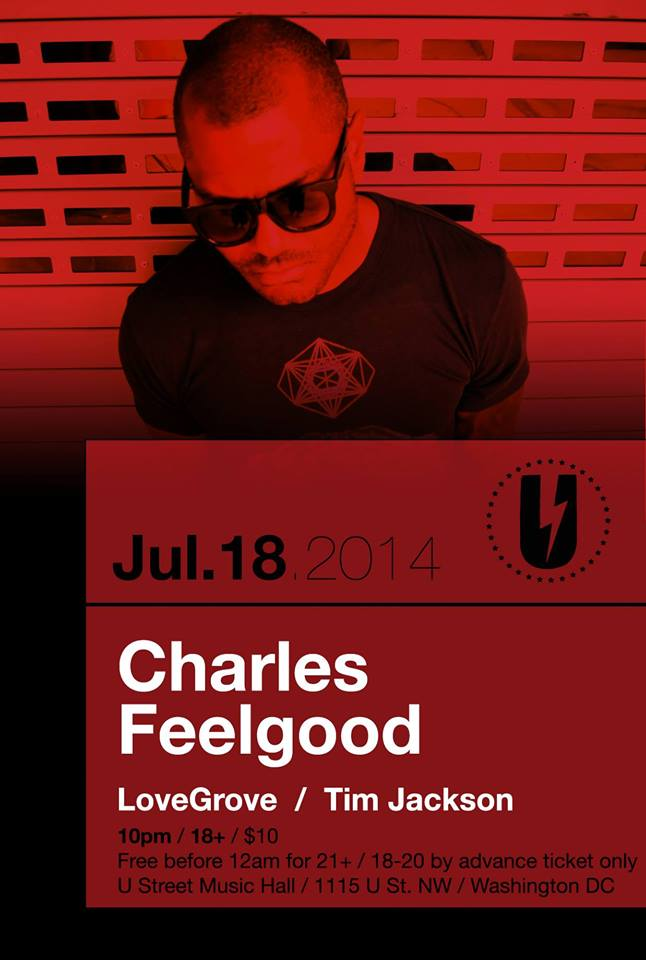 Charles Feelgood w/ LoveGrove, Tim Jackson