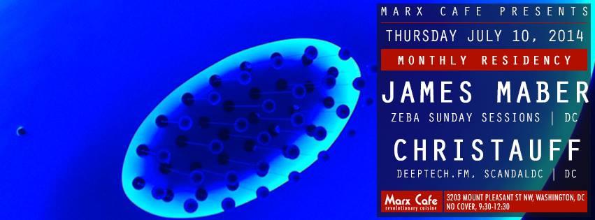 THU July 10 Marx Cafe presents: Christauff