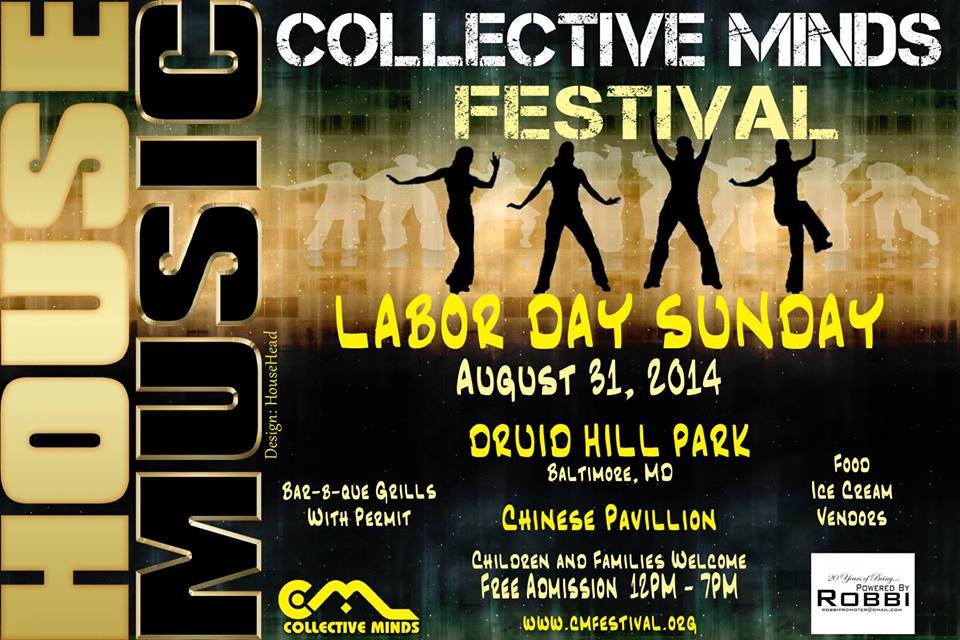 8.31 COLLECTIVE MINDS OUTDOOR FESTIVAL : BALTIMORE MD