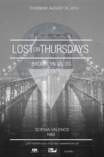 Lost on Thursdays: Brooklyn vs. DC with Sophia Valence and R & B
