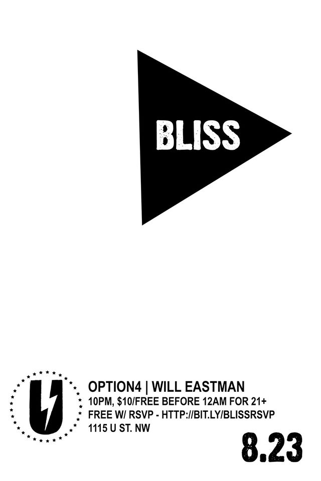 BLISS: option4 + Will Eastman
