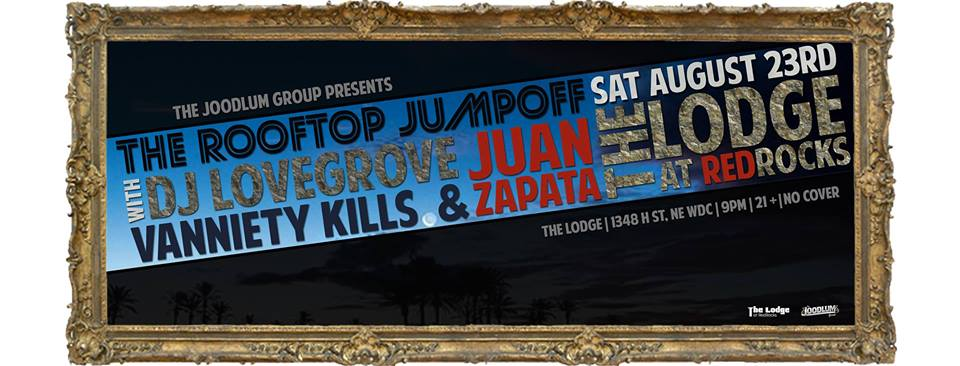 DJ LOVEGROVE, JUAN ZAPATA & VANNIETY KILLS at THE LODGE AT REDROCKS