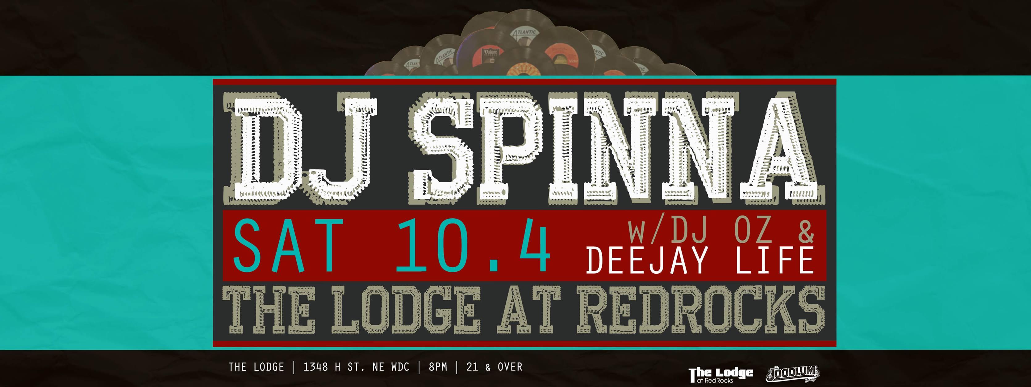 DJ Spinna at The Lodge at Redrocks