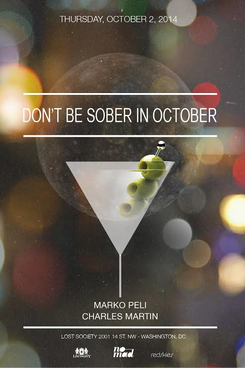 10.02: Don't Be Sober In October feat. Marko Peli & Charles Martin