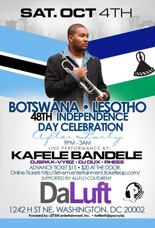 BOTSWANA • LESOTHO | 4 8 t h Independence Celebration #DC