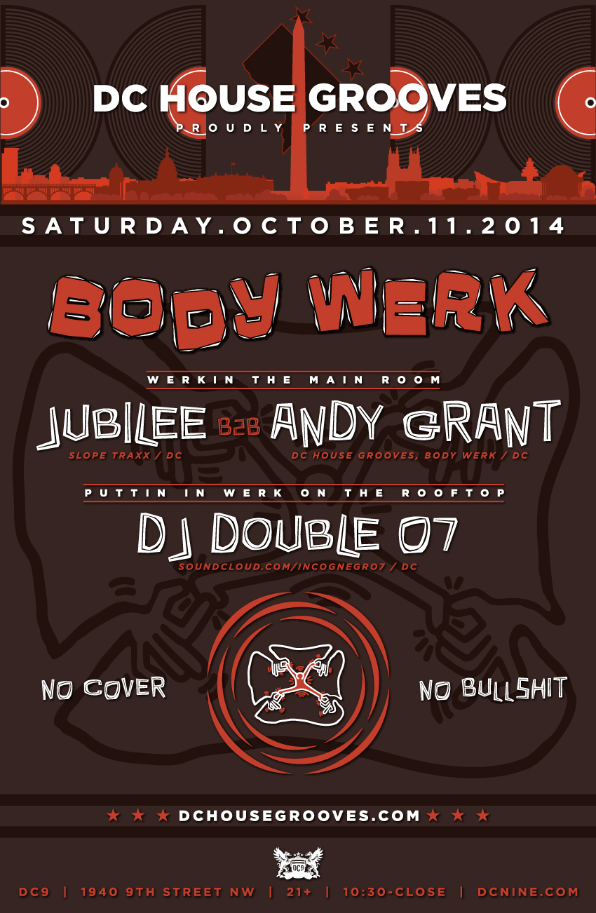 DC House Grooves presents Body Werk