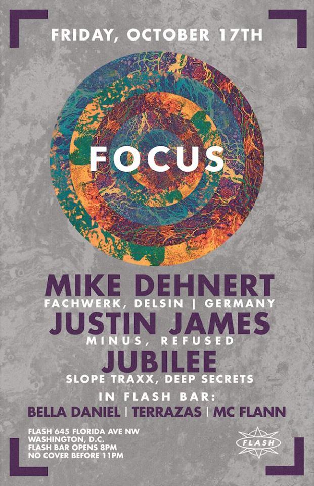 Focus: Mike Dehnert, Justin James, Jubilee at Flash