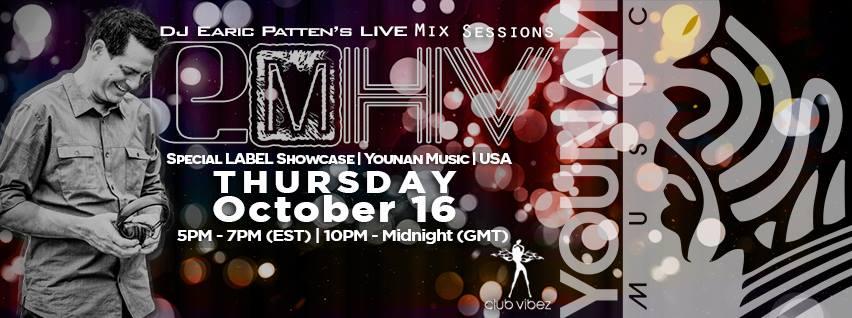 Dj Earic Patten's ElektrikMetroHouseVibes MixSessions | Join The Tribe | Younan Music Label Showcase