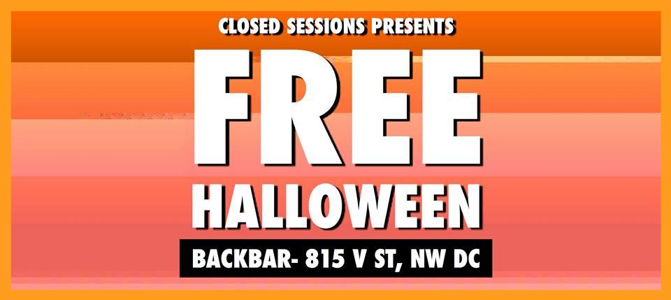 Free Halloween at Backbar
