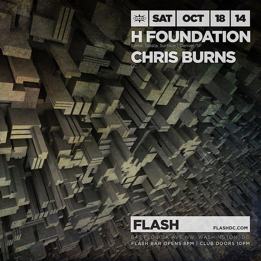 H Foundation (Hipp-E & Halo), Chris Burns at Flash