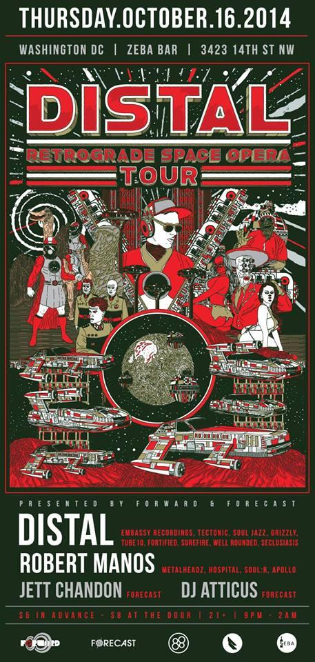 Forward & Forecast Present the Distal Retrograde Space Opera Tour w/ Special Guest Robert Manos