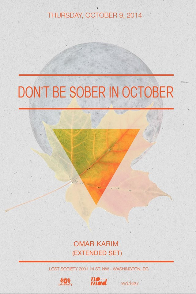 10.09: Don't Be Sober In October feat. Omar Karim (Extended Set)