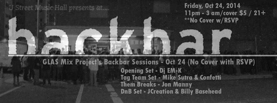 GLAS Mix Project - 9:30 Club's Backbar