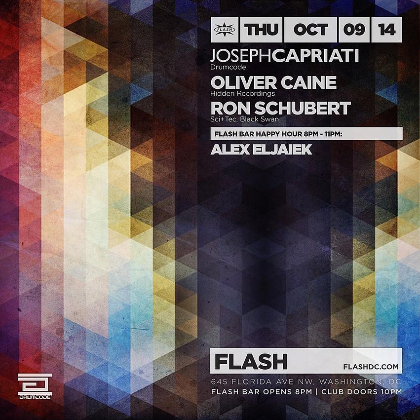 Joseph Capriati, Oliver Caine, Ron Schubert, Alex Eljaiek at Flash
