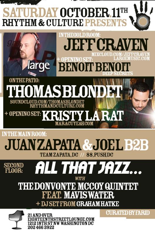 Rhythm & Culture Presents: Jeff Craven & Thomas Blondet