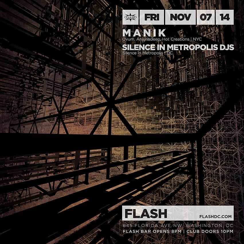 MANIK, Silence in Metropolis at Flash