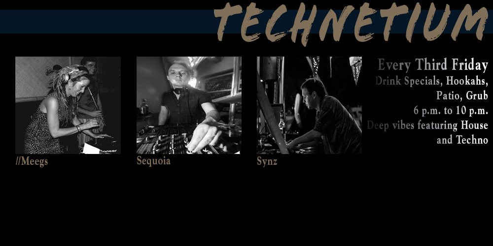Technetium - a musical, monthly happy hour at Zeba Bar