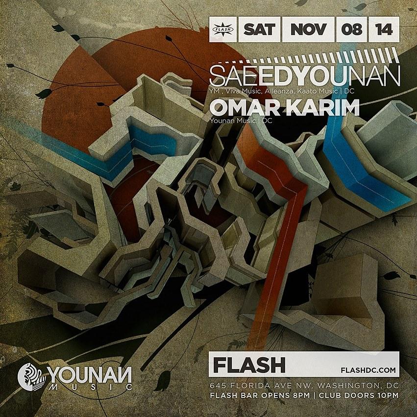 Saeed Younan, Omar Karim at Flash