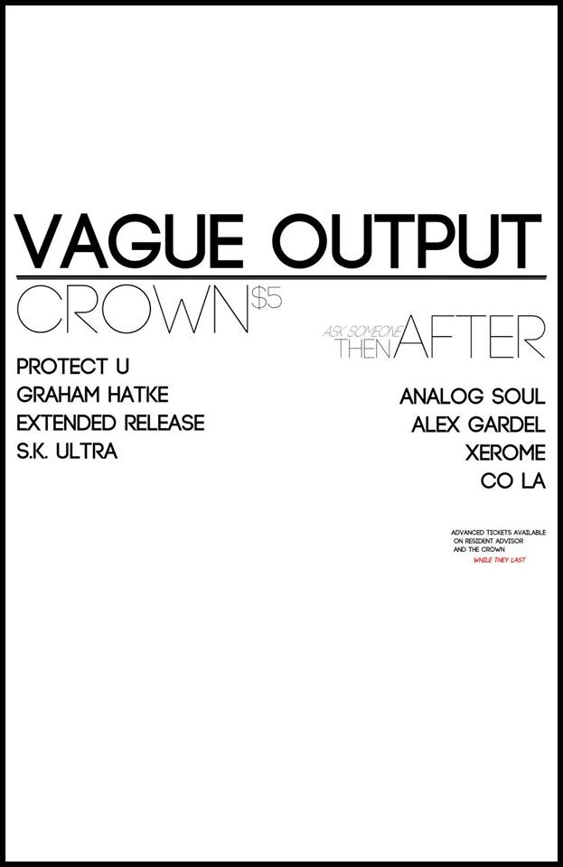 Vague Output W/ Protect-U (before) & Analog Soul (after)