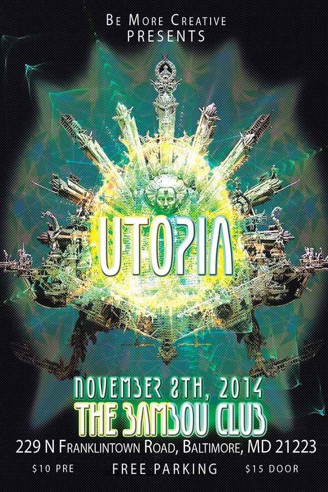 Utopia at The Bambou Club, Baltimore