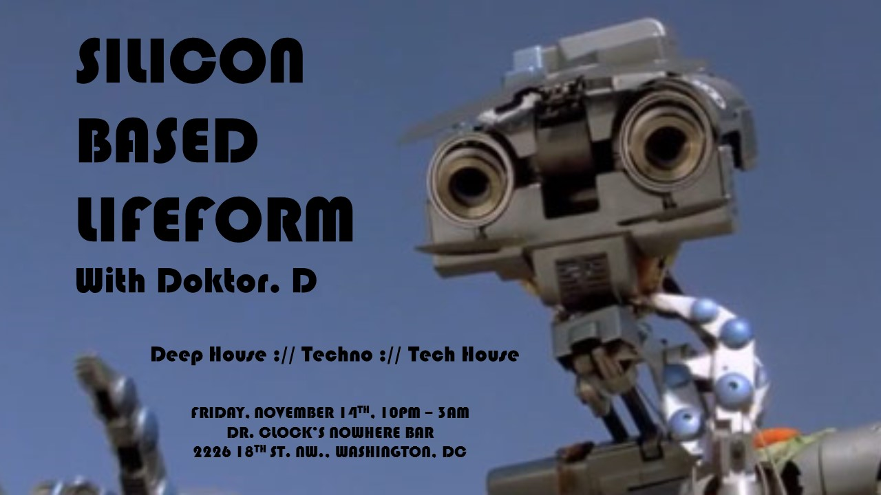 Silicon Based Lifeform at Dr. Clock's Nowhere Bar