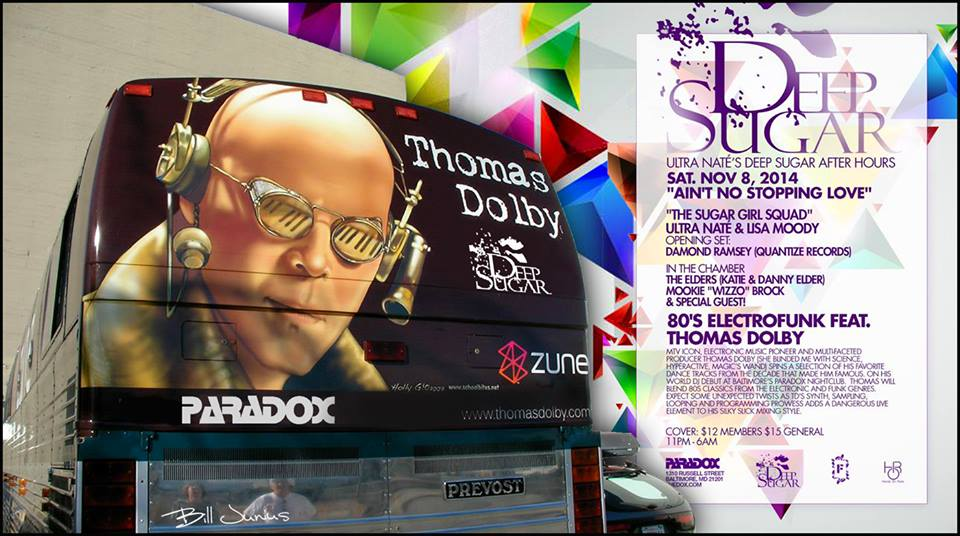 """Deep Sugar Girl Squad - Ain't No Stopping Love Featuring Thomas Dolby's """"80'S Electro Funk"""" World Premier at The Paradox"""