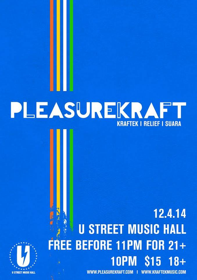 Pleasurekraft with RNS at U Street Music Hall