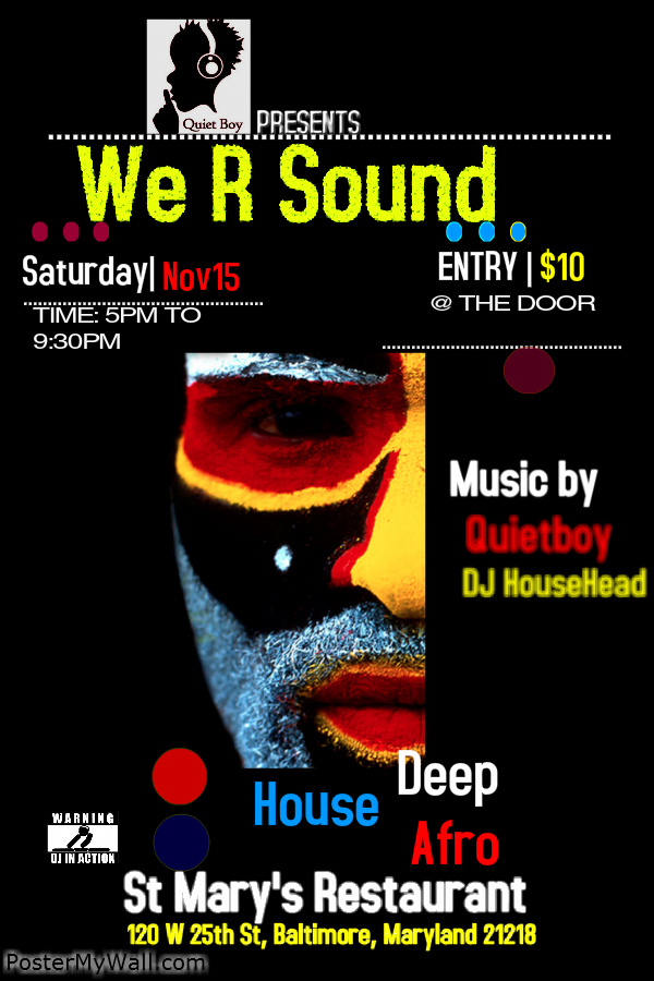 We R Sound at St. Mary's Restaurant & Lounge, Baltimore