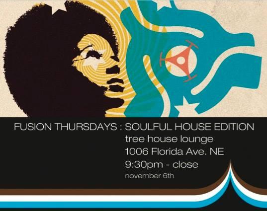 Fusion Thursdays: Soulful House edition with DJ 007, 1SmoothDJMarv & DJ Christopher at Tree House Lounge