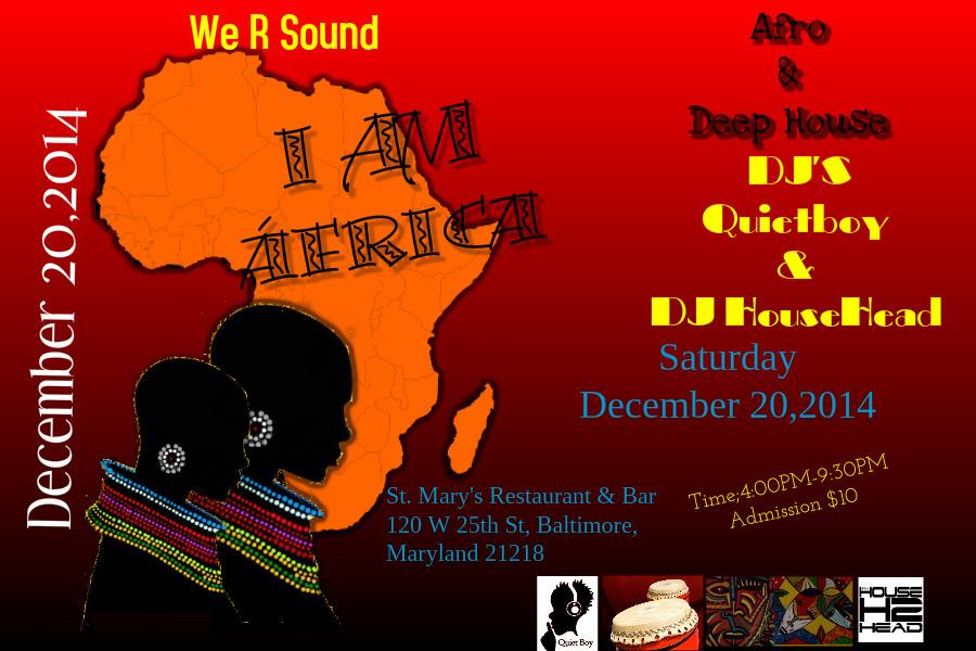 We R Sound 2nd Installment at St. Mary's Restaurant & Bar, Baltimore