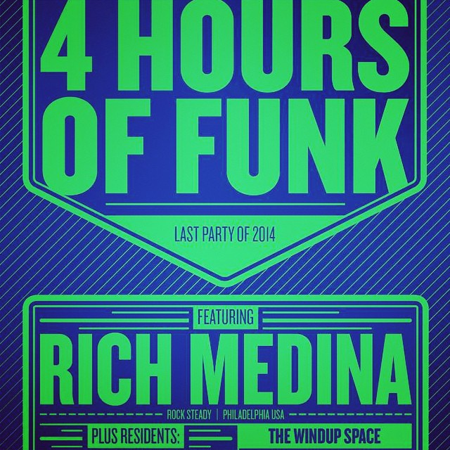 4 Hours Of Funk Feat Rich Medina at The Windup Space, Baltimore