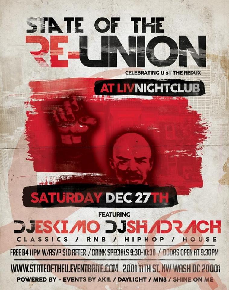 State of the ReUnion DJ Eskimo & DJ Shadrach at Liv Nightclub