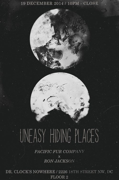 Uneasy Hiding Places with Pacific Fur Company & Ron Jackson at Dr. Clock's Nowhere Bar