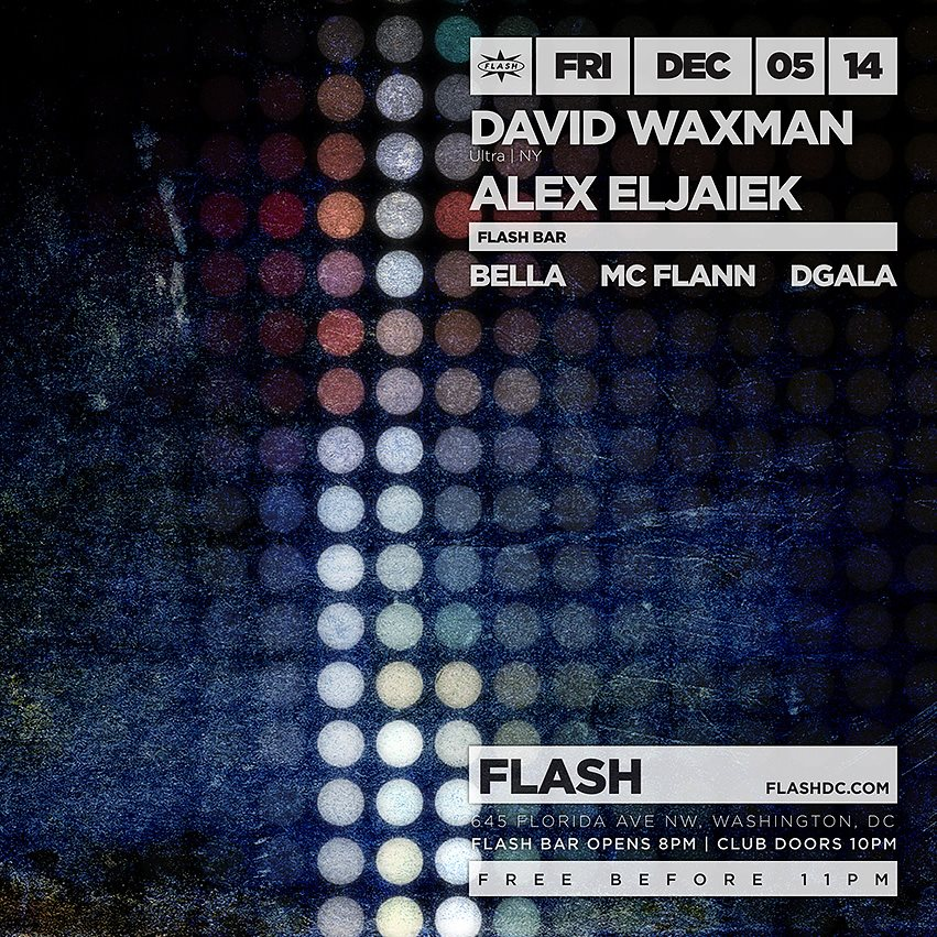 David Waxman & Alex Eljaiek at Flash