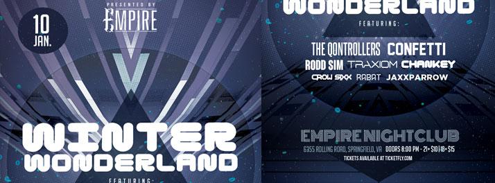 Winter Wonderland at Empire, Springfield, VA