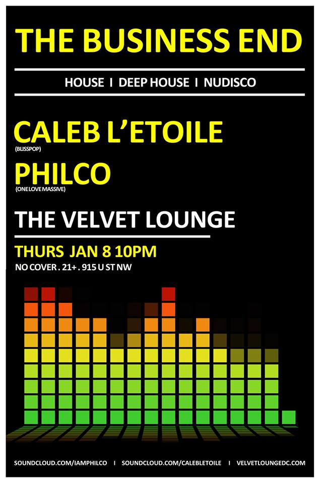 The Business End with Caleb L'Etoile & Philco at The Velvet Lounge