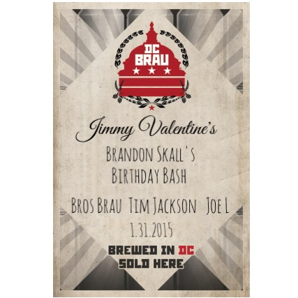 DC Brau hosts Brandon Skall's Birthday at Jimmy Valentines