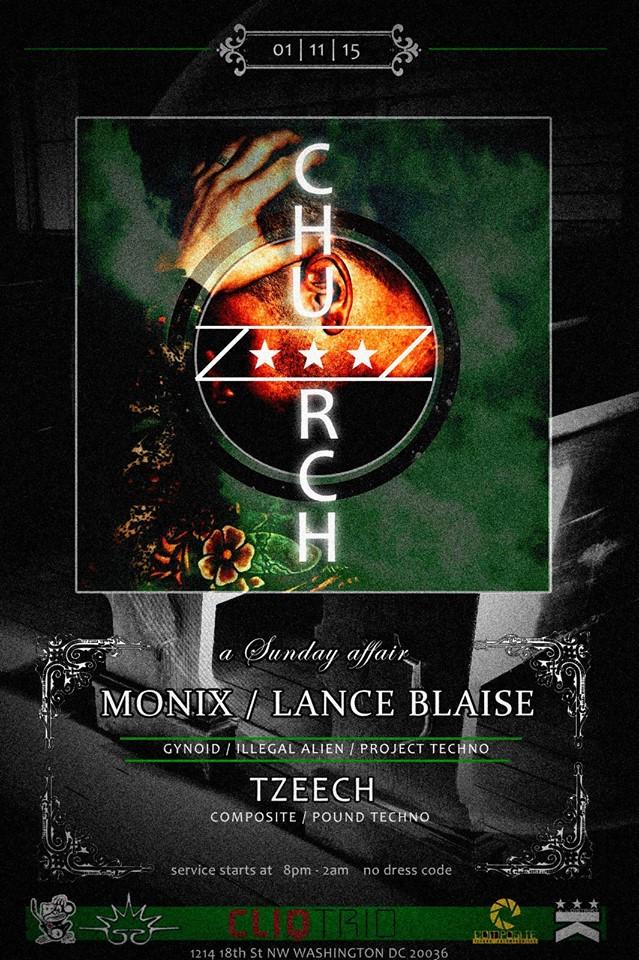 Church Presents Monix at Public Bar