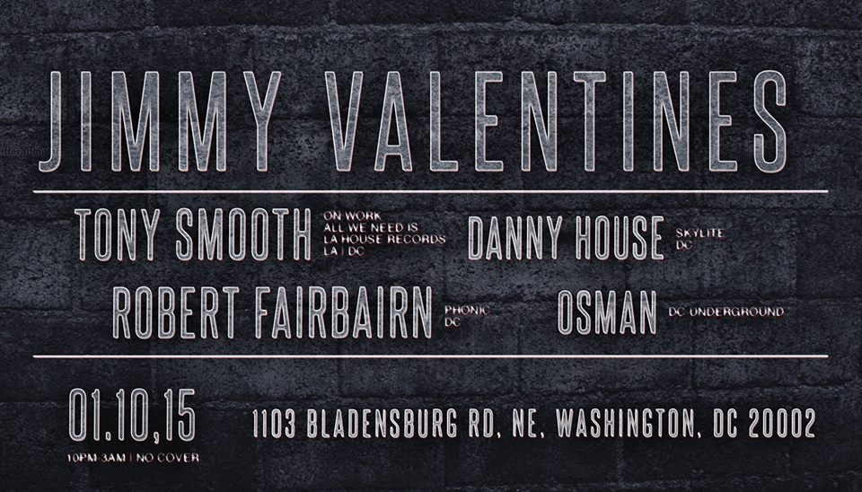 Tribe Tronix Presents: Fresh Start! W/ Robert Fairbairn, Tony Smooth, Osman, and Danny House at Jimmy Valentines Lonely Hearts Club
