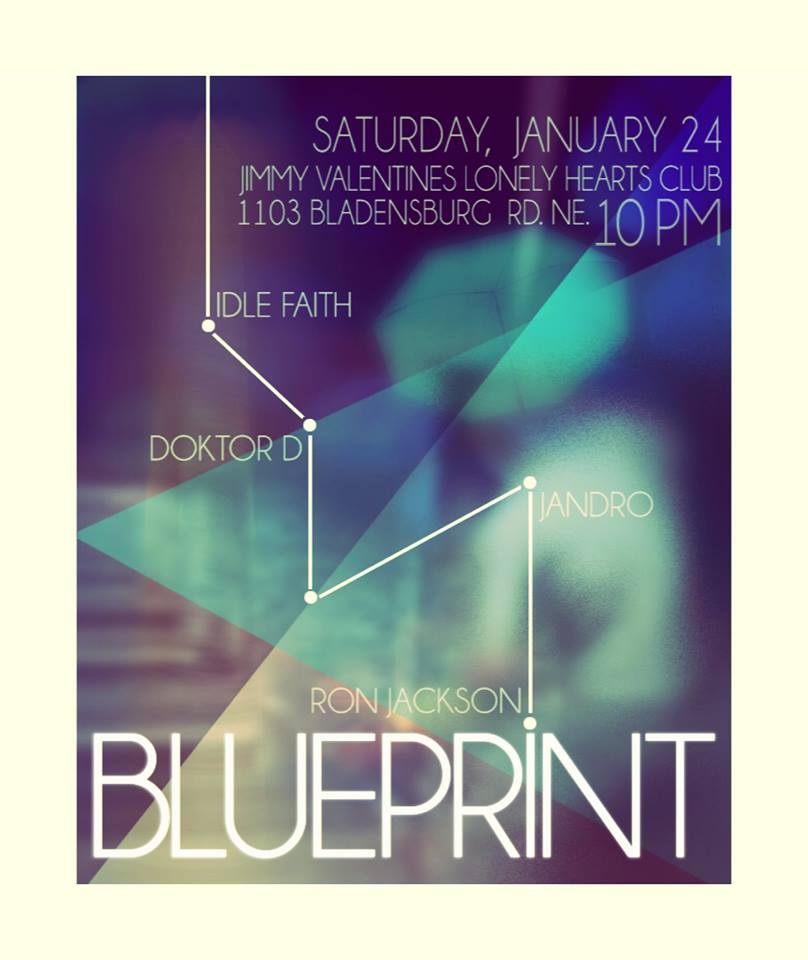 Blueprint (33 and counting...) at Jimmy Valentine's Lonely Hearts Club