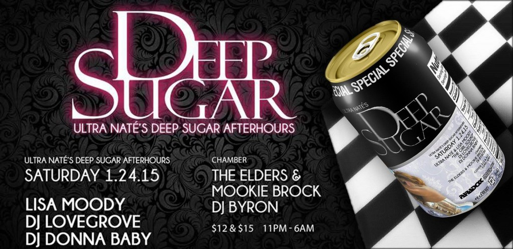 Deep Sugar with Lisa Moody, Lovegrove, DJ Baby, The Elders, Bryon B-Note Brown and Mookie Wizzo at The Paradox, Baltimore