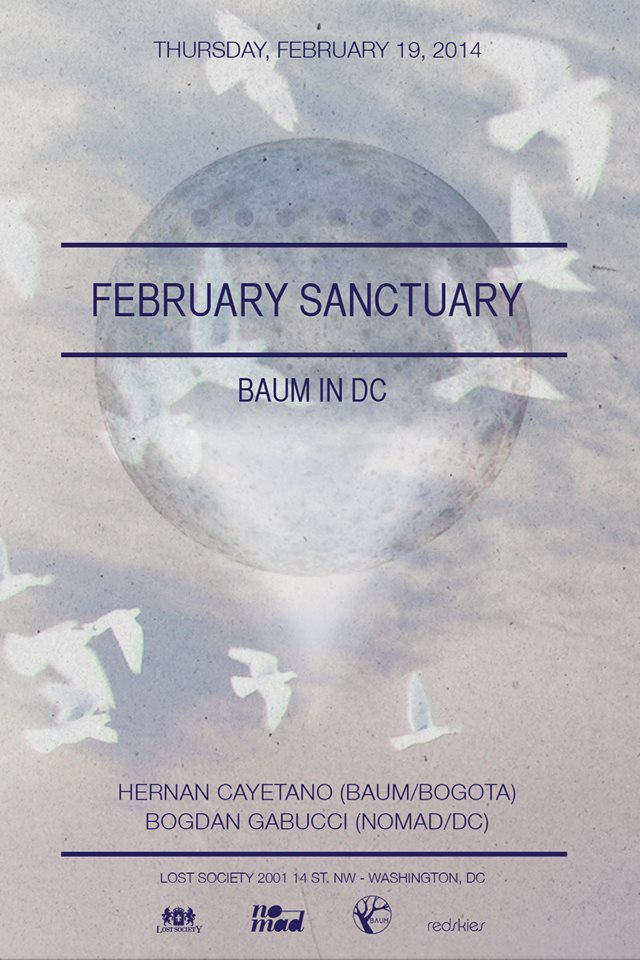 Lost on Thursdays: Baum in DC feat. Hernan Cayetano (Baum, Bgta) & Bogdan Gabucci at Lost Society