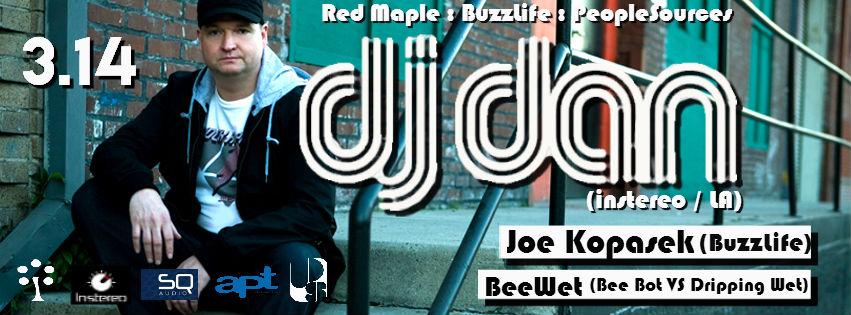DJ Dan at The Red Maple, Baltimore