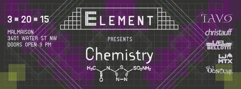 Element presents Chemistry w/ Tavo at Malmaison