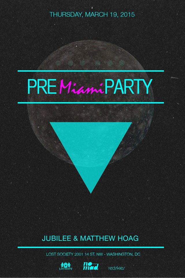 Lost on Thursdays Pre-Miami Party with Jubilee and Matthew Hoag at Lost Society