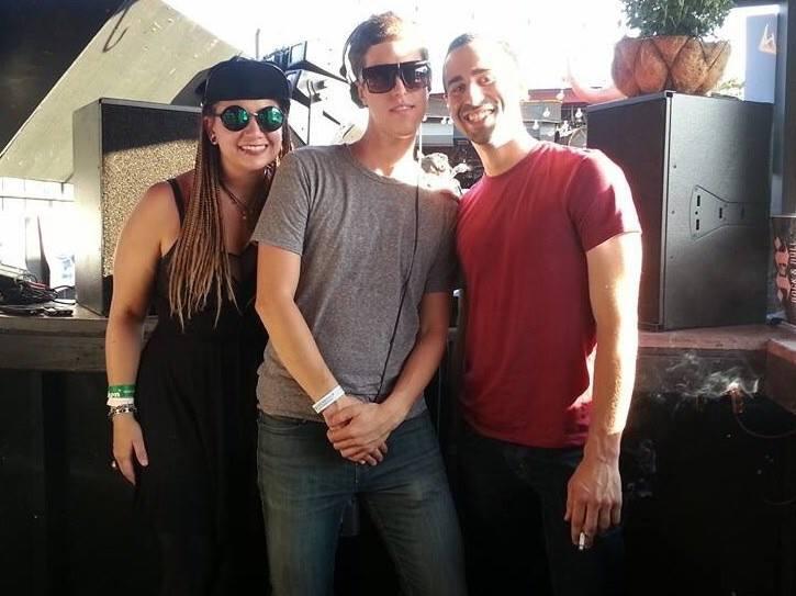 ROAM DJs on the Roof with Lisa Frank, Chris Nitti & Sami Y at Rock'n'Roll Hot