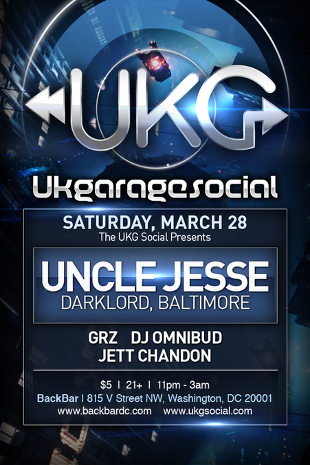 The UKG Social with Uncle Jesse, Omnibud, Jett Chandon & GRZ at Backbar
