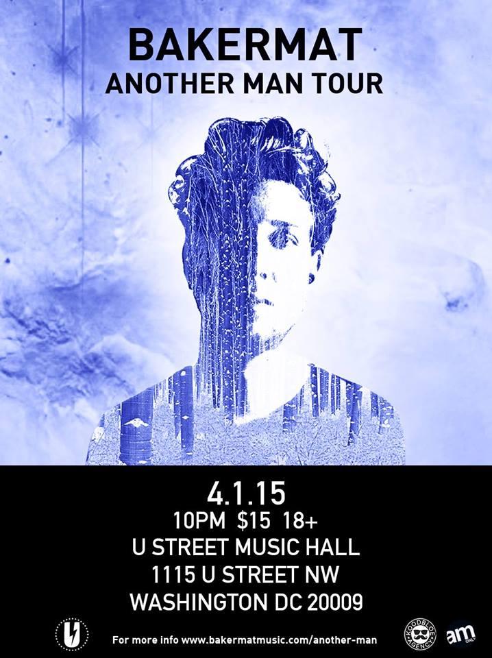 Bakermat (DJ Set) with Jus Nowhere at U Street Music Hall