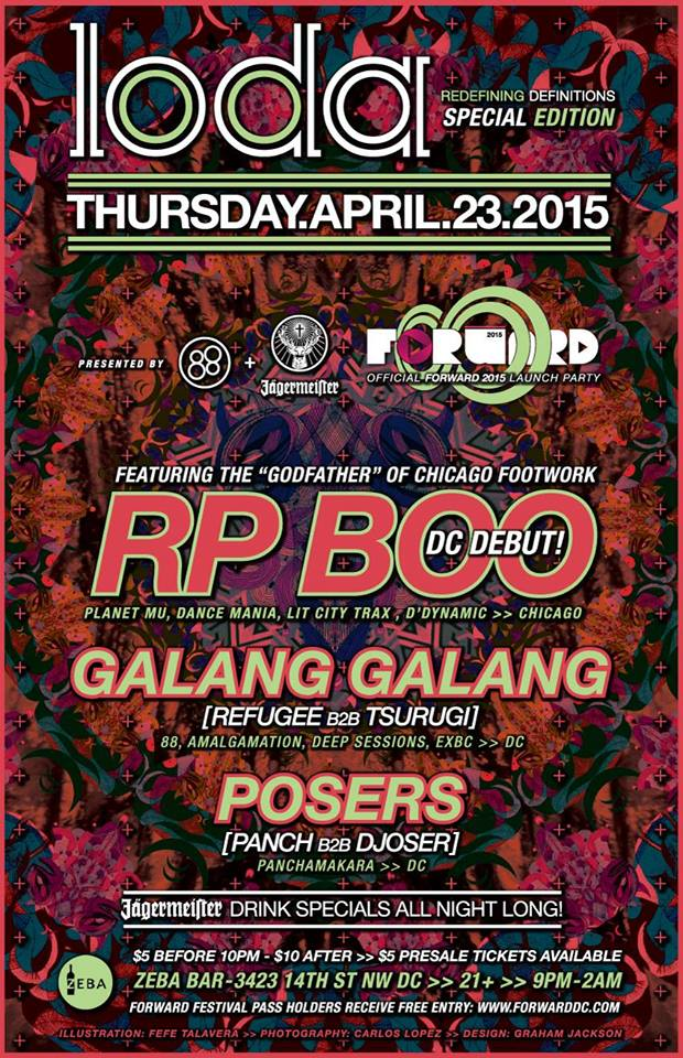LODA w/ RP BOO, Galang Galang & Posers at Zeba Bar Official FORWARD Launch Party